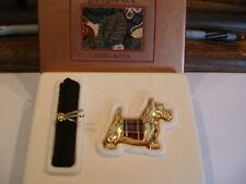 """Estee Lauder Solid Perfume Compact 1995 """"Scottie"""" MIBB"""