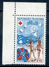 STAMP / TIMBRE FRANCE NEUF LUXE N° 1828a ** CROIX ROUGE L'ETE / ISSUS DE CARNET