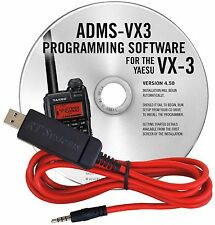 YAESU ADMS-VX3-USB SOFTWARE & CABLE FOR VX3R/USB