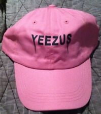 Yeezus Hat Glastonbury Unstructured strap back Dad Cap Pink 350 750 Yeezy Kanye