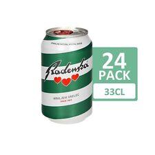 Radenska Mineralwasser 0.33L, 24 Dosen/Cans
