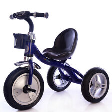 086663df778 Little Bambino Kids Tricycle | Rubber Air Filled Wheels |Steel Frame Trike  Blue