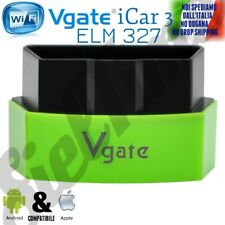 OBD2 OBDII Vgate iCar3 ELM WIFI SCANNER ANDROID IPHONE IOS 12 13 TORQUE IPAD S10