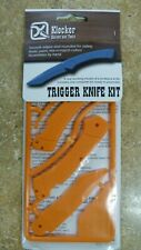 "Klecker Knives  Trigger  Safety Training Tool  Knife Kit  Plastic  7"" NIP"