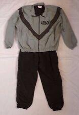 ARMY PT Jacket Pants Set Large Regular IPFU Improved Physical Fitness Uniform