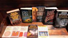 Isaac Asimov Science Fiction  Book Lot