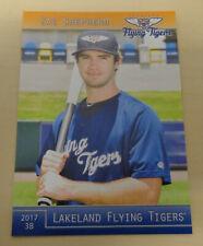 ZAC SHEPHERD - 2017 Lakeland Flying Tigers - Sydney Blue Sox - Aussie Baseball