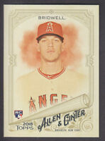 Topps - Allen & Ginter 2018 - Base # 258 Parker Bridwell - Los Angeles Angels RC