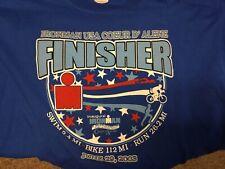 Ironman Triathlon Coeur d'Alene 2003 Inaugural Finisher T-shirt Xl