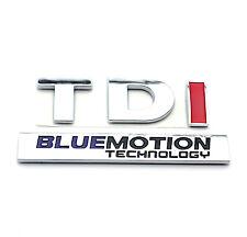 TDI BLUEMOTION Car Rear Boot Trunk Badge Emblem Sticker for VW Golf MK5 MK6 MK7
