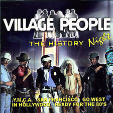 Night: The History by The Village People (CD, Nov-2005, Scorpio Distribution)