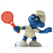 PUFFO PUFFI SMURF SMURFS SCHTROUMPF 2.0049 20049 Tennis Smurf Puffo Tennista 3A