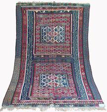 260x160 cm antico tappeto orientale nomadi Turkish Kayseri Kilim Kilim rarità 824