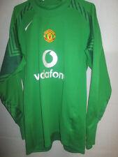 Manchester United Van Der Sar 2004-2005 Portero De Fútbol Camisa medio / 34064