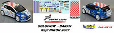 Fiat Punto S2000 - SOLOWOW  -   Rajd NIKON  2007