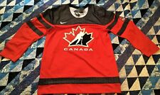 Team Canada IIHF Official 2016 Replica Red Hockey Jersey (MEDIUM)