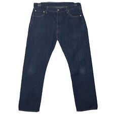 "Levi's Strauss & Co 501 botón mosca Blue Jeans W36"" L30.5"" Pantalón De Pierna Recta"