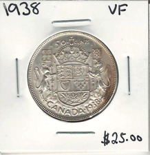 Canada 1938 50 Cents VF Lot#2