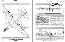 Convair B-36 Peacemaker Manuals 1950's historic Cold War archive Bomber D & H