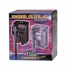 AZOO Mignon Filter 60 (60l/h) 15gph hang on back for small aquariums