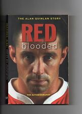MUNSTER RUGBY - ALAN QUINLAN AUTOBIOGRAPHY - RED BLOODED - IRELAND