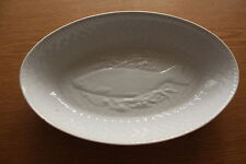 ROYAL WORCESTER GOURMET OVEN CHINA OVAL BAKING / SERVING DISH SALMON DESIGN