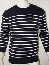 polo ralph lauren men's striped sweater size large NWT
