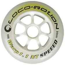 % 4 Stück Loco-Motion 'Warp 1.1 NT' 84mm 86A Inline Skate Rolle Neu %