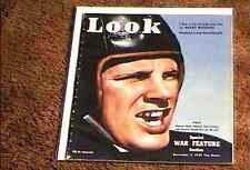 LOOK MAGAZINE 1939  NOV 7  FINE+ FILE COPY VINTAGE FOOTBALL GERMAN U-BOATS