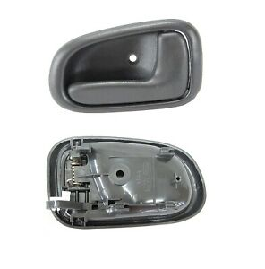 FOR TOYOTA COROLLA  AE10#  94-98 FRONT DOOR INSIDE HANDLE, GRAY- RIGHT SIDE