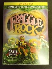 -SEALED- Fraggle Rock: Complete Series Collection (DVD, 2009, 20-Disc Set)