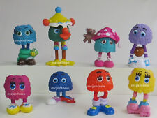 LOOSE LOT 8 McDonald's 1989 FUNNY FRY FRIENDS Fry Kids Girl Boy INCOMPLETE