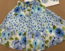 GYMBOREE Size 3 3t MALIBU COWGIRL TIERED FLORAL SKIRT horse dress dressy New