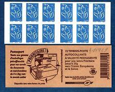 Carnet - 4127 C1 - Type Marianne de Lamouche - TVP bleu N° 4127 - NEUF