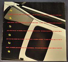 1992 Hyundai Scoupe Catalog Sales Brochure LS Excellent Original 92
