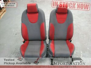FORD FOCUS LS XR5 USED FRONT SEATS PAIR RECARO RED GRAY 2005-07