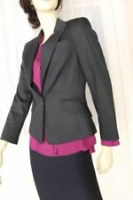 Cue Viscose Regular Size Striped Coats, Jackets & Vests for Women