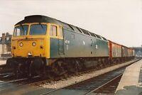 British Rail 47157 Hereford 6x4 inch Rail Photo