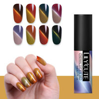 5ml LILYCUTE Color Changing Gel Polish Thermal Magnetic Soak Off UV Gel Nail Art