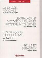 """DVD """"Belle et Sebastien,Les garçons et Guillaume a table,l extravagant voyage..."""