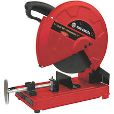 "King Canada Tools 8342N 14"" CUT-OFF SAW Tronçonneuse 14"" Powerful 15 amp motor"