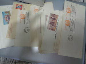 US POSTAL STATIONERY FDCs ALL CACHETED, ALL UNADDRESSED 1600+++ COVERS