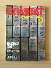 COMBAT - Military and Gun Magazine September 1992 Issue - FROM JAPAN - Pre Owned