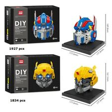 Transformers Deluxe Edition LED Micro Diamond Nano Building Blocks DIY Gift Toy