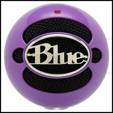 Blue Microphones Snowball USB Podcast / Record Vocal Microphone Wicked Purple