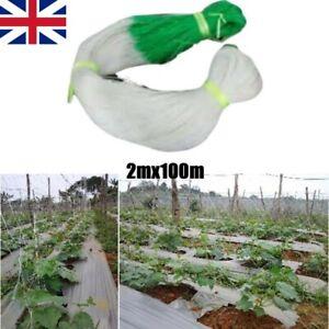 2M X 100M Trellis Garden Climbing Netting Plant Support Mesh Bean Cucumber Net