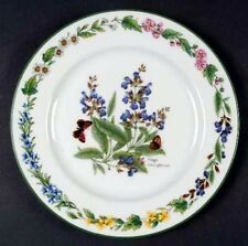 Royal Worcester HERBS Salad Plate - Sage Flowers - New!