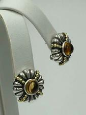 Gold Citrine Earrings - Gorgeous! New listing