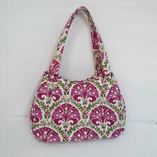 981164c7f9ef Vera Bradley Floral Pink and Green Cargo Sling Bag Purse