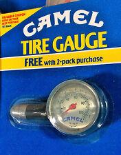 Vintage 1991 Joe CAMEL TIRE PRESSURE GAUGE. Heavy Metal & Glass. NEW in PKG